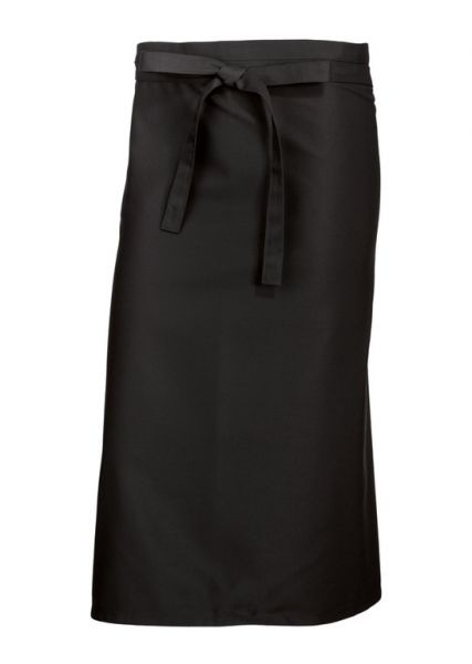 SALE: Bistroschürze schwarz 100 x 100 cm für Catering & Gastronomie