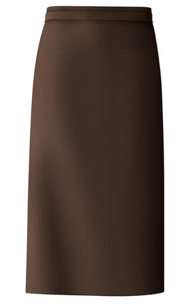 Bistro-Schürze 100x80 cm in Braun