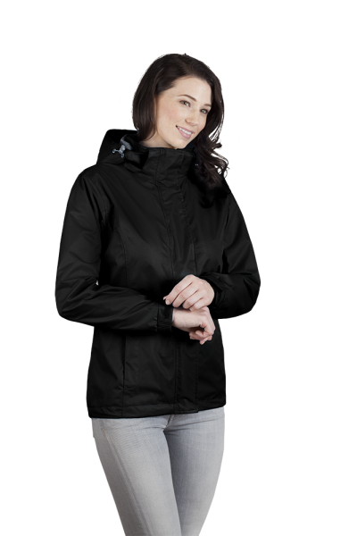 Damen Performance Jacke schwarz