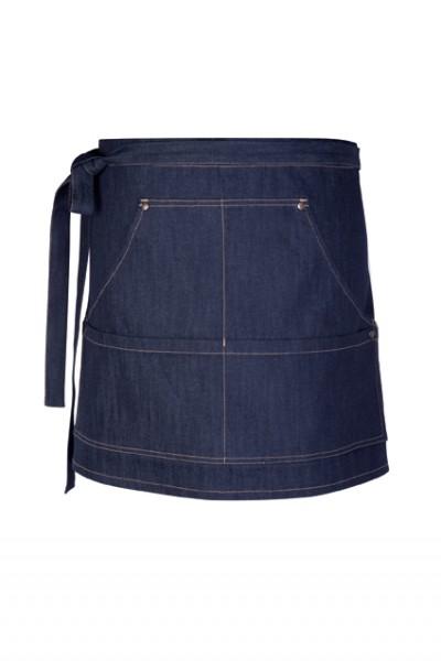 GREIFF - style 4141 Vorbinder 77x40 blue denim Jeansschürze