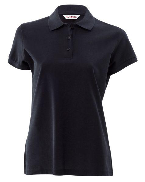 Damen Poloshirt schwarz Binz KÜMMEL