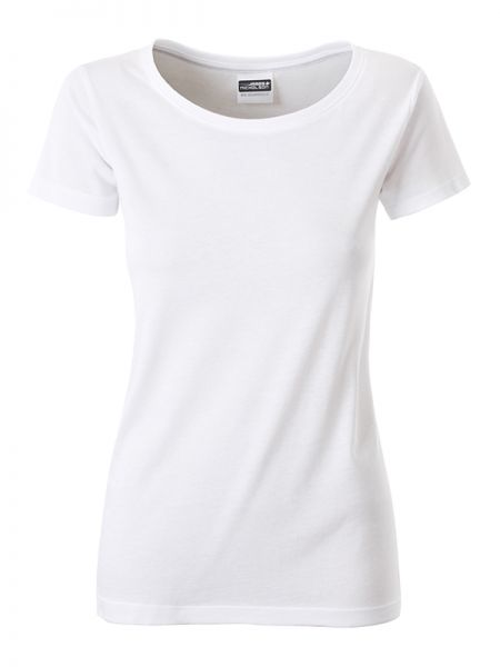 Damen Shirt weiß Bio-Baumwolle Tradition Daiber