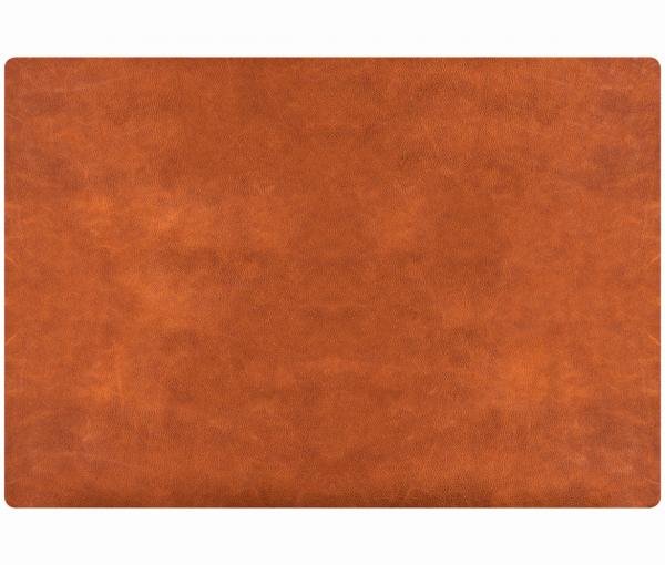 Leder - Tischset im Rustic-Style - 4 Stück cognac 655 |96 EXNER