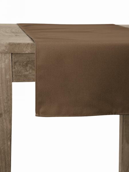 Tischläufer taupe Santino 80071 Chaud Devant