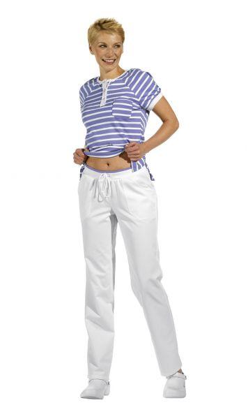 LEiBER classic style Damenhose weiß mit Kordel 08-1071 lange Größe