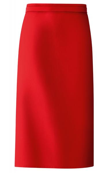 Bistro-Schürze 100x80 cm in Rot