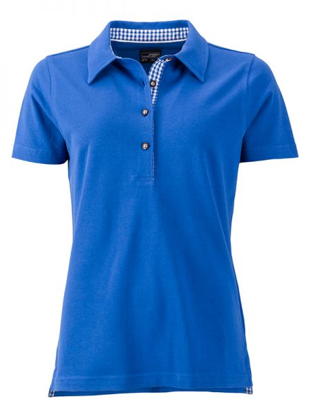 Damen Polohemd royalblau Tradition Daiber