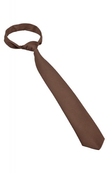 Krawatte Ruck-Zuck in Braun