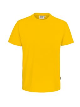 Herren Shirt in Sonne mit Rundhals-Ausschnitt
