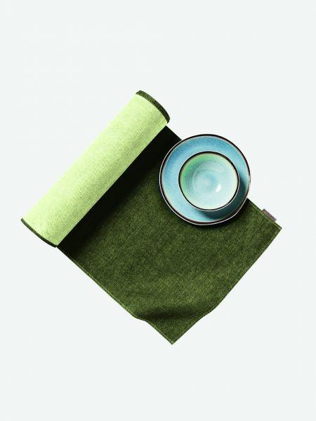 Tischläufer green Denim 81771 Chaud Devant