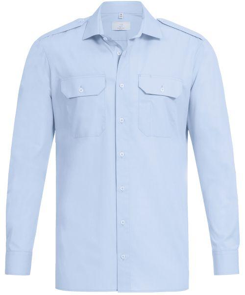 Herren Pilothemd regular fit Langarm | GREIFF Basic 6730