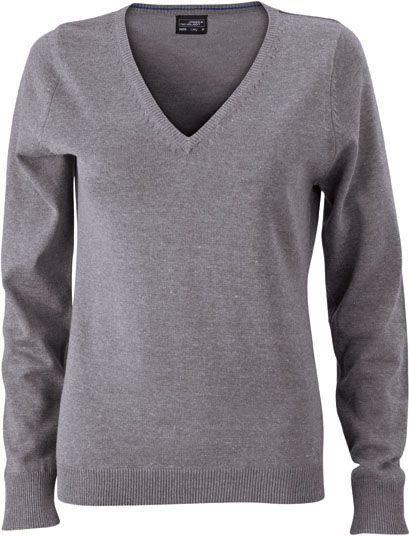 Damen Pullover - grau