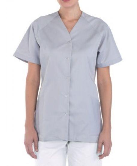 Kurzarm Damenkasack für Arztpraxis Pflege   Creyconfe FORMENTERA 46577