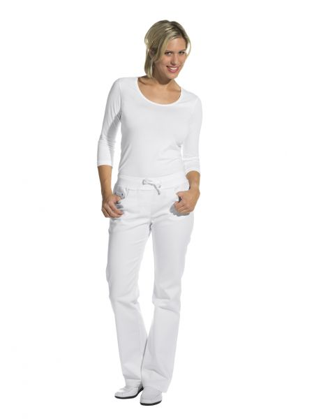 LEiBER classic style Damenhose weiß - 5-Pocket-Form stretch - 08-6832 kurze Größe