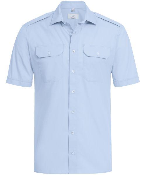 Herren Pilothemd regular fit Kurzarm | GREIFF Basic 6731
