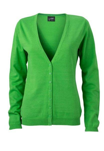 Damen Cardigan - grün