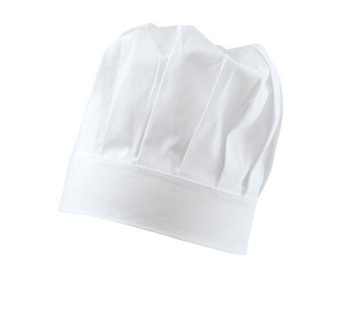 Exner Kochmütze 29cm hoch in weiß