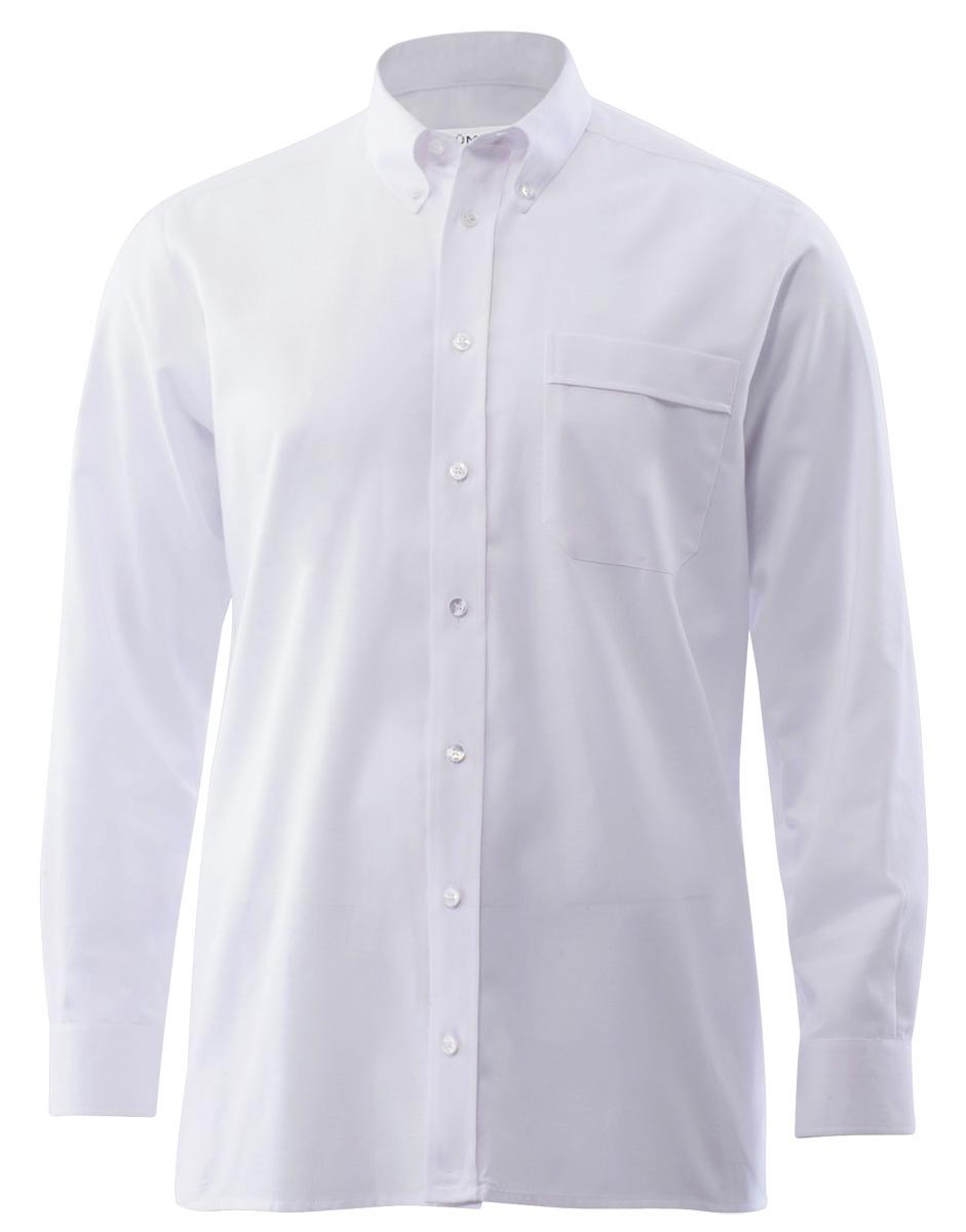 e27d1e21cc5047 Oxford Herrenhemd in weiß als Alternative zum klassischen Uniformhemd    Hotel-Uniform.de by Konfektion in Perfektion