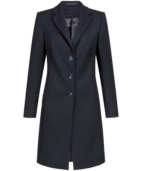 Business Damen Mantel regular fit schwarz | GREIFF Outdoor 1844
