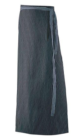 Exner Vorbinder 100x100 cm + Durchgriff - 100% Baumwolle 230gr/m² - nadelstreifen