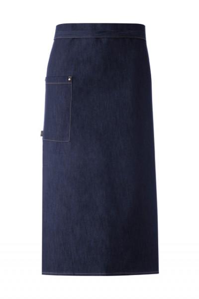 GREIFF - style 4126 Bistroschürze 100x80 blue denim Jeansschürze