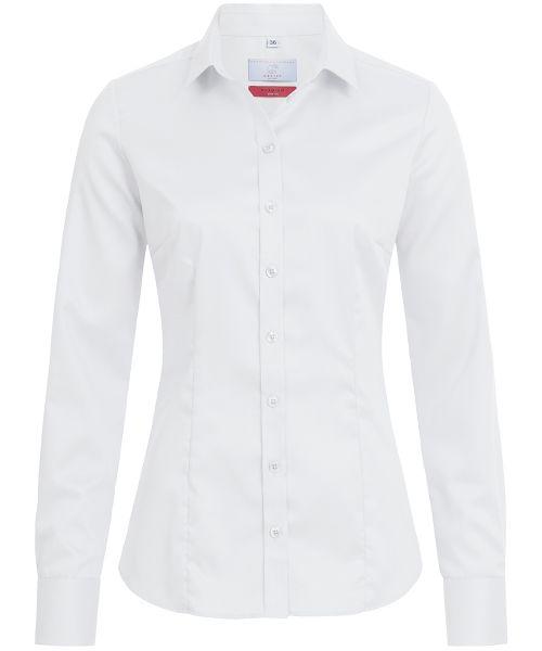 Business Damen Bluse slim fit Langarm | GREIFF Premium 6560