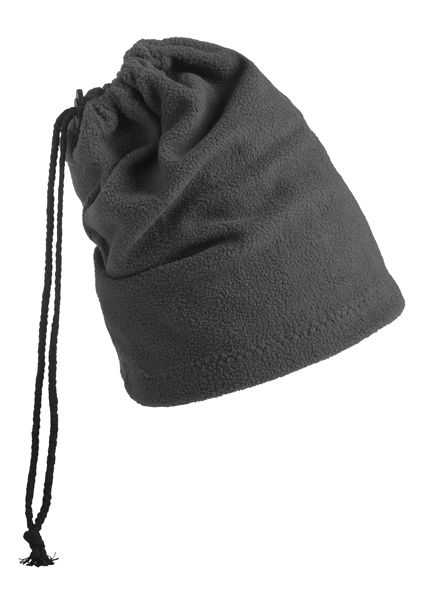 Balaclava - Mütze und Schal in einem – grau