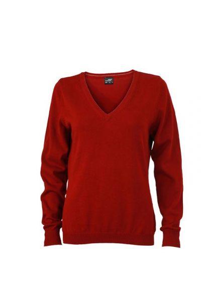 Damen Pullover - bordeaux