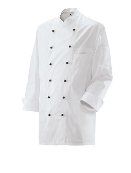 Exner Kochjacke langarm 2-reihig mit Stehkragen - große Größen