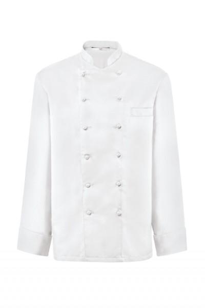 GREIFF - style 242 Kochjacke langarm in schwarz oder weiß