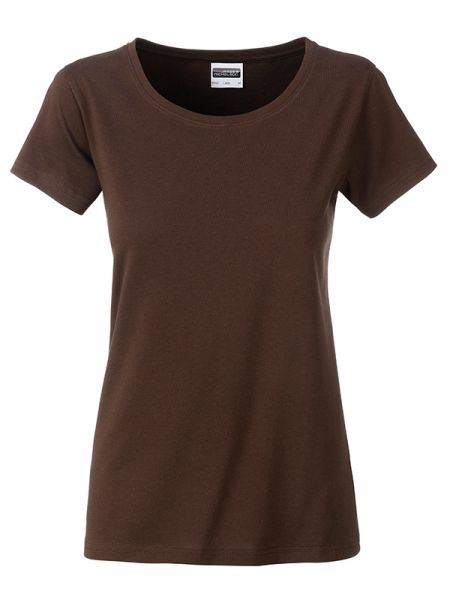 Damen Shirt brown Bio-Baumwolle Tradition Daiber