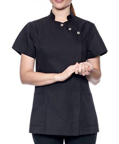 Damenkasack schwarz für Praxis & Pflege   Creyconfe GENEVE 42673