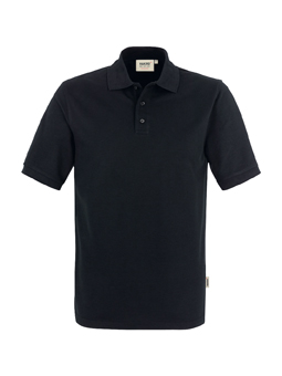 Herren Polo Performance in Schwarz