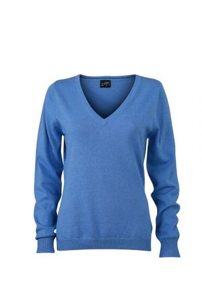 Damen Pullover - hellblau