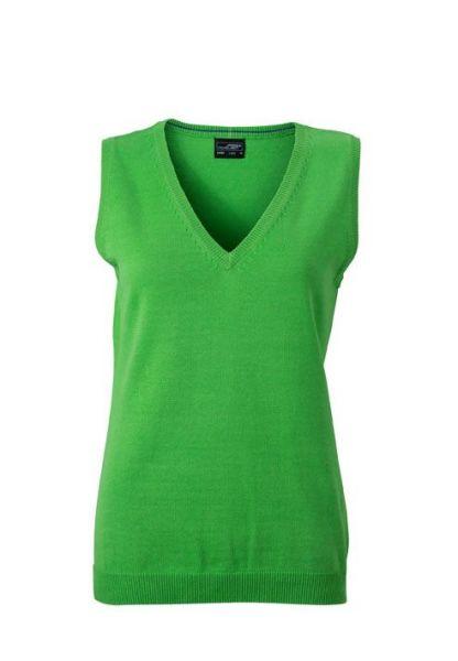 Damen Pullunder - grün
