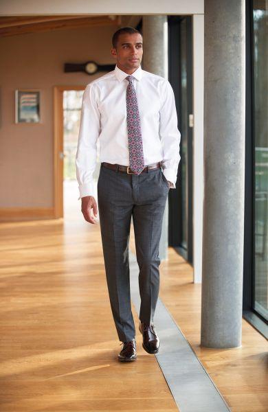 Business Herren Hose CASSINO slim fit | BROOK T. Signature 8846