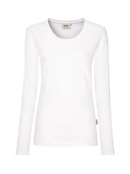 Damen Shirt langarm in Weiß