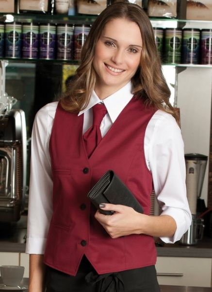 Damenweste für die Gastronomie / Servicebereich