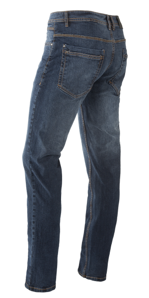 Herren Stretch Jeans Blue Denim