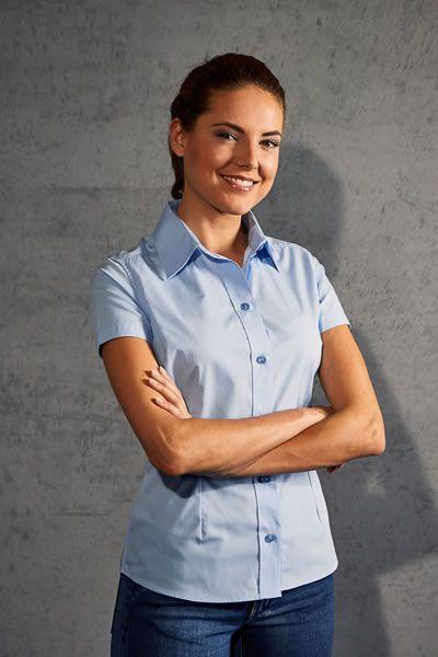Modernes Popeline Shirt für Frauen | Promodoro 6305
