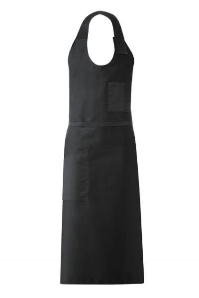 GREIFF - style 4409 Sommelierschürze schwarz 77x100 mit Taschen