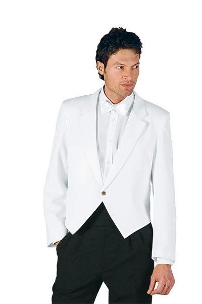 Spencer - klassisch - unisex - weiß