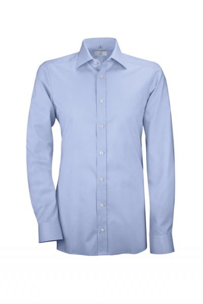 GREIFF premium - style 6638 Herrenhemd langarm in weiß | bleu - slim fit