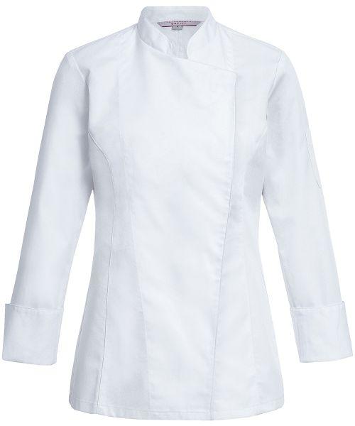 Damen Kochjacke mit verdeckten Druckknöpfen regular fit | GREIFF Basic 5405