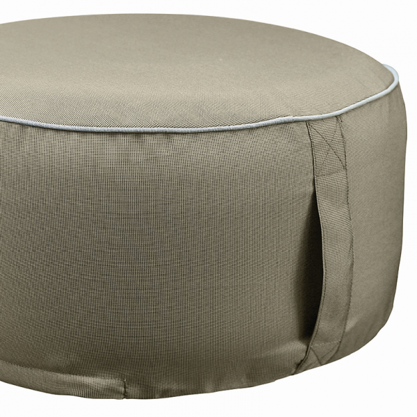Outdoor Sitzpouf - 55 x 25 in toffee | 649 76 EXNER