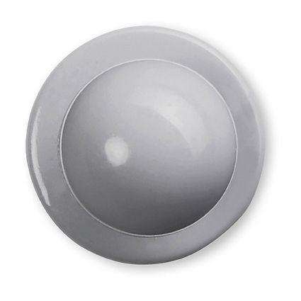 GREIFF - style 5900 Kugelknöpfe für Kochjacken - 12er Pack - grau
