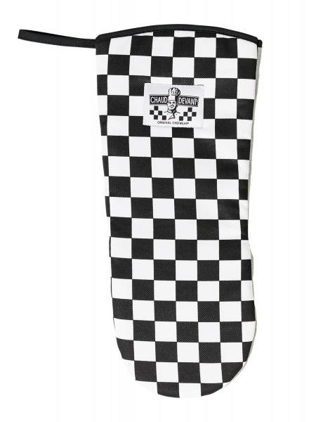 Ofenhandschuh schwarz-weiß 706 Chaud Devant