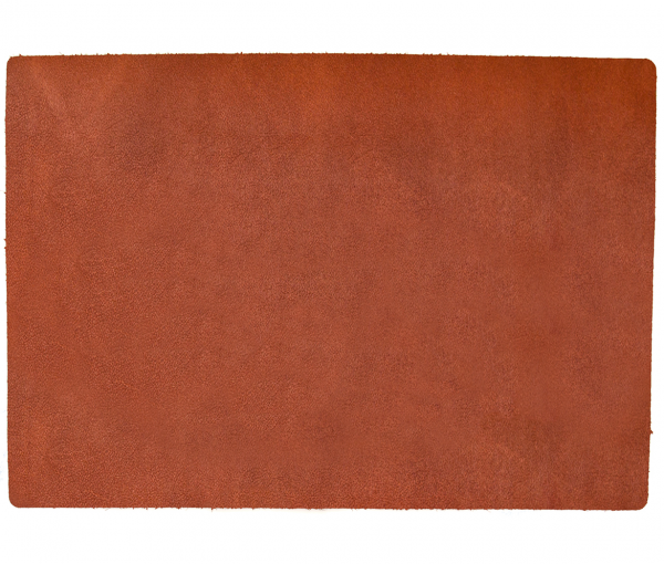 Leder - Tischset im BBQ-Style - 4 Stück cognac 653 | 98 EXNER