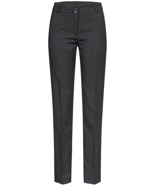 Strapazierfähige Business Damen-Hose slim fit | GREIFF Basic 1358