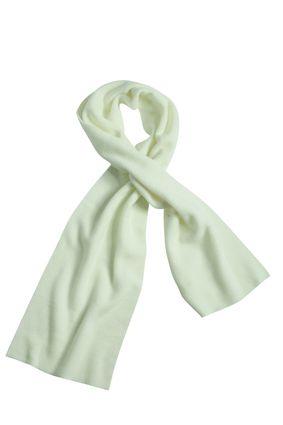 Extrabreiter Fleece Schal weiß